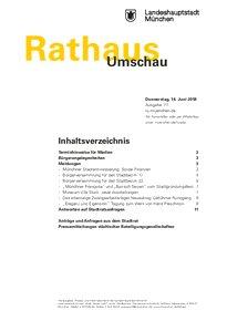 Rathaus Umschau 111 / 2018