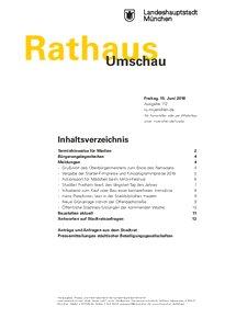 Rathaus Umschau 112 / 2018