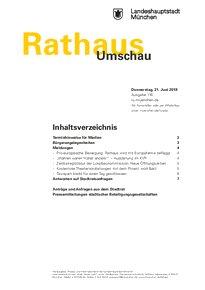 Rathaus Umschau 116 / 2018