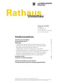 Rathaus Umschau 117 / 2018