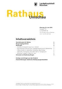 Rathaus Umschau 119 / 2018