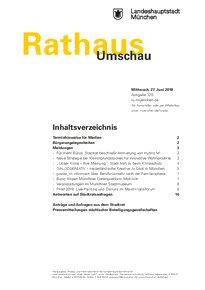Rathaus Umschau 120 / 2018