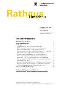 Rathaus Umschau 122 / 2018