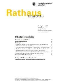 Rathaus Umschau 123 / 2018