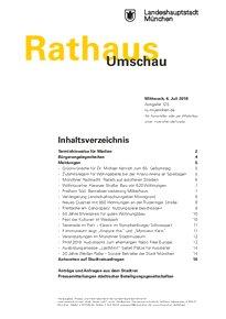 Rathaus Umschau 125 / 2018