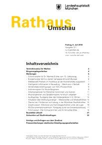 Rathaus Umschau 127 / 2018
