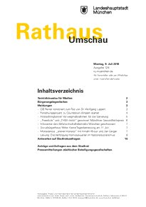 Rathaus Umschau 128 / 2018