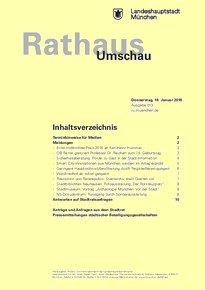 Rathaus Umschau 13 / 2018