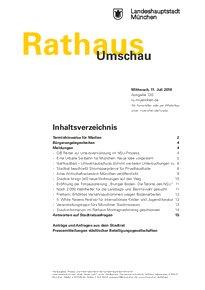 Rathaus Umschau 130 / 2018