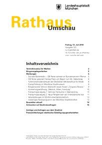Rathaus Umschau 132 / 2018