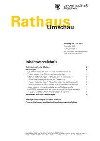 Rathaus Umschau 133 / 2018