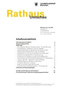 Rathaus Umschau 135 / 2018