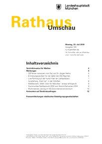Rathaus Umschau 138 / 2018