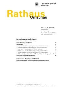 Rathaus Umschau 140 / 2018