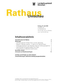 Rathaus Umschau 142 / 2018