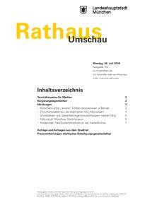 Rathaus Umschau 143 / 2018
