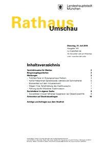 Rathaus Umschau 144 / 2018