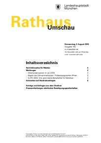 Rathaus Umschau 146 / 2018