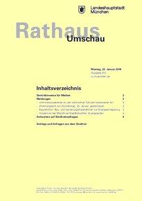 Rathaus Umschau 15 / 2018
