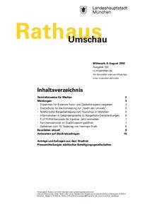 Rathaus Umschau 150 / 2018