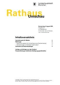 Rathaus Umschau 151 / 2018