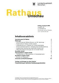 Rathaus Umschau 156 / 2018
