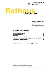 Rathaus Umschau 159 / 2018
