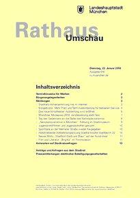 Rathaus Umschau 16 / 2018