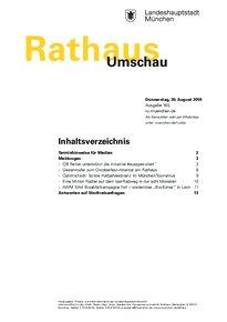 Rathaus Umschau 165 / 2018
