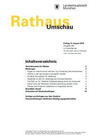 Rathaus Umschau 166 / 2018