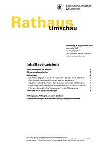 Rathaus Umschau 168 / 2018