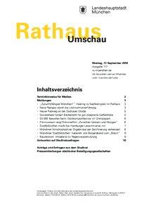 Rathaus Umschau 177 / 2018