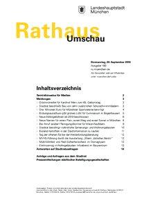 Rathaus Umschau 180 / 2018