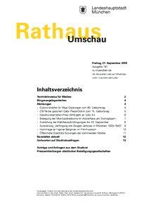 Rathaus Umschau 181 / 2018