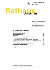 Rathaus Umschau 183 / 2018
