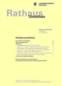 Rathaus Umschau 19 / 2018