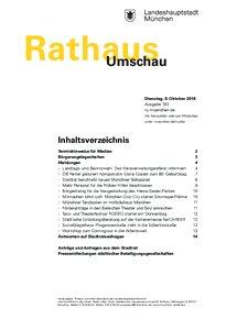 Rathaus Umschau 192 / 2018