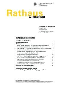 Rathaus Umschau 194 / 2018