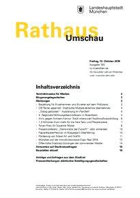 Rathaus Umschau 195 / 2018