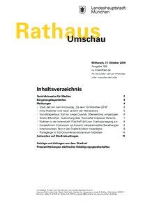 Rathaus Umschau 198 / 2018