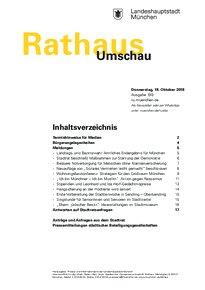 Rathaus Umschau 199 / 2018