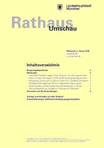 Rathaus Umschau 2 / 2018