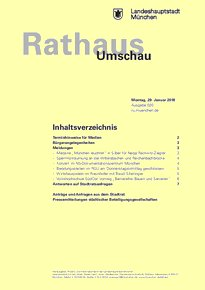 Rathaus Umschau 20 / 2018