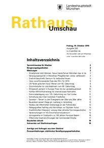 Rathaus Umschau 200 / 2018