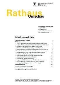 Rathaus Umschau 203 / 2018