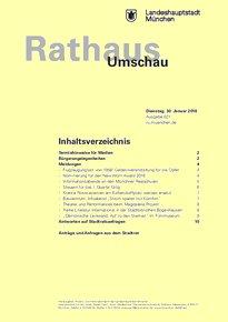 Rathaus Umschau 21 / 2018