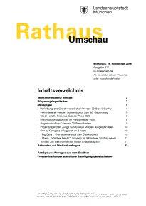 Rathaus Umschau 217 / 2018