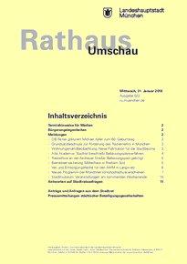 Rathaus Umschau 22 / 2018