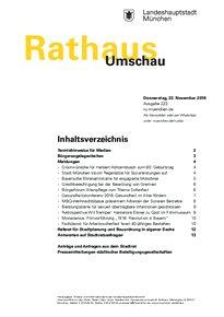 Rathaus Umschau 223 / 2018
