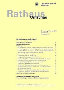 Rathaus Umschau 23 / 2018